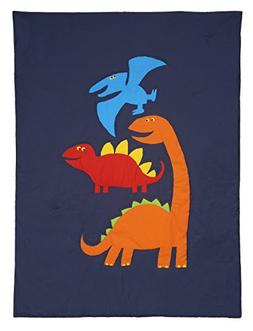 Carter's 4 Piece Toddler Bed Set, Prehistoric Pals