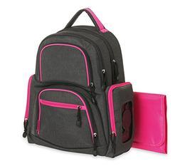 Carter's Sport Baby Diaper Bag Backpack - Nappy Bag has Tren