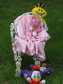Cashmere Pashmina Group: Baby Blanket in Pashmina Wool trimm