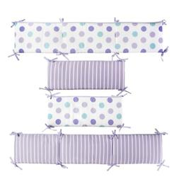 CoCaLo Mix & Match Reversible Bumper, Violet