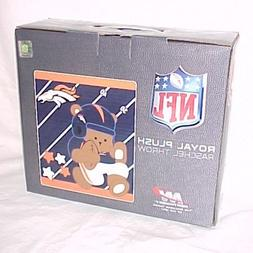 Denver Broncos Royal Plush Baby Blanket, by Northwet