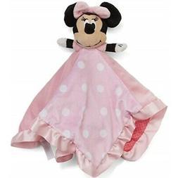 "Disney Baby Minnie Mouse Blanky & Plush Toy, 13"""