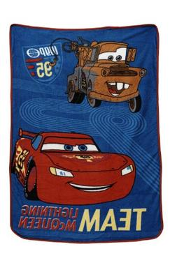 Disney Coral Fleece Blanket, Cars Taking The Race by Disney