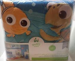 Disney Finding Nemo 4 Piece Crib Bedding Set, Blue