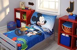 Disney Mickey Mouse Clubhouse Bedding Set and Night Light -
