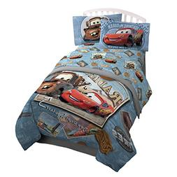 Jay Franco Disney/Pixar Cars Tune Up Blue/Gray 3 Piece Twin