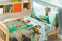 Disney Prehistoric Footprints 4 Piece Toddler Bed Set, The G