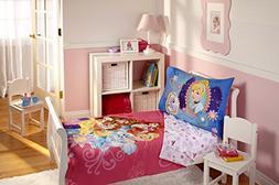 Disney Princess 4 Piece Toddler Bedding Set, Palace Pets