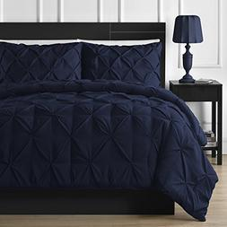 Comfy Bedding Double Needle Durable Stitching 3-piece Pinch