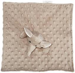 Elegant Baby Soft Animal Security Blankie, Grey Elephant