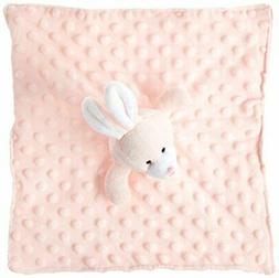 Elegant Baby Soft Animal Security Blankie, Pink Bunny
