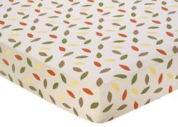 Sweet Jojo Designs Forest Friends Fitted Crib Sheet for Baby