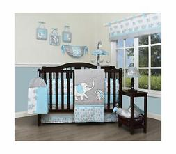 GEENNY Boutique Baby 13 Piece Nursery Crib Bedding Set, Bliz