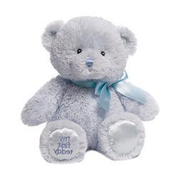 Baby GUND My First Teddy Bear Stuffed Animal Plush, Blue, 10
