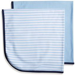 Gerber Baby Boys' 2 Pack Thermal Blankets, Transportation, O