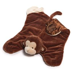 Gund Baby Nicky Noodle Monkey Comfy Cozy Baby Security Blank
