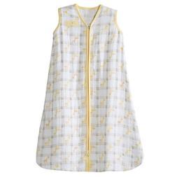 HALO 100% Cotton Muslin Sleepsack Wearable Blanket, Giraffe