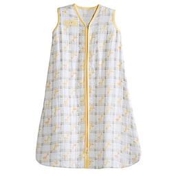 HALO SleepSack Wearable Blanket 100% Cotton Muslin - Yellow