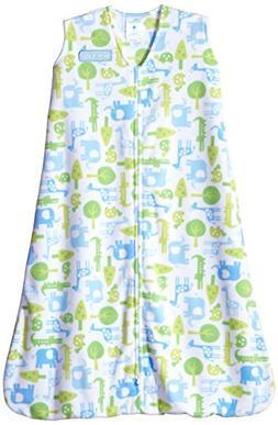 HALO SleepSack Wearable Blanket Microfleece - Blue Jungle Tr