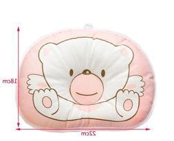 Hot Newborn Baby Boy Girl Anti-roll Pillow Flat Head Sleepin