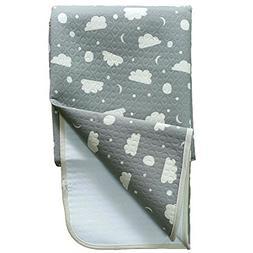 JoJobebe Moon and Cloud Mini Waterproof Sheet Protector for
