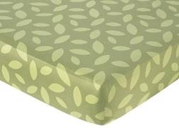 Jungle Time Fitted Crib Sheet for Baby and Toddler Bedding S