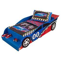 KidKraft Toddler Racecar Bedding Set