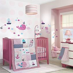 Lambs and Ivy Splish Splash Bedding Set