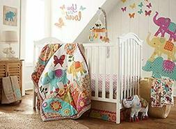 Levtex Home Baby Zahara 5 Piece 100 Percent Cotton Crib Fitt