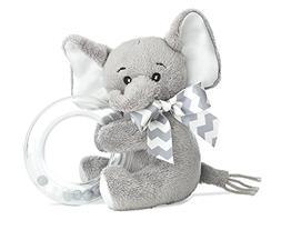 Bearington Baby Lil' Spout Plush Stuffed Animal Gray Elephan