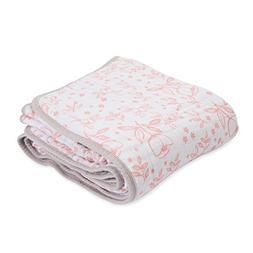 Little Unicorn Cotton Muslin Blanket Quilt - Garden Rose