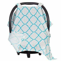 Maddie Moo Muslin Carseat Canopy - Car Seat Canopy for Popul