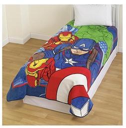 Marvel Avengers Age of Ultron Oversize Twin / Full Plush Bed