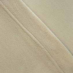 Micro Fleece Sheet Set King Tan