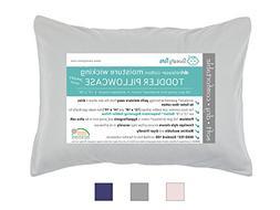 Moisture Wicking Toddler Pillowcase for Sweaty Sleepers - Fi