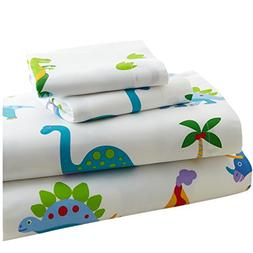 Wildkin Toddler Sheet Set, 100% Cotton Toddler Sheet Set wit