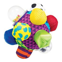 Sassy Developmental Bumpy Ball 6+ Months With Bright Colors,