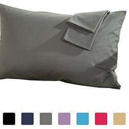"""Set of 2 - Toddler Travel Pillowcase 500 Thread Count 12""""x16"""
