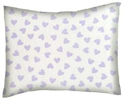 SheetWorld Crib / Toddler Percale Baby Pillow Case - Pastel