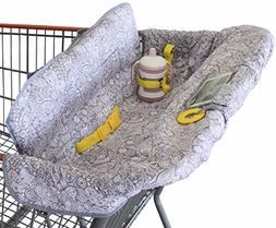 Shopping Cart Cover for Baby or Toddler | 2-in-1 High Chair