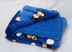 Home Must Haves Baby Ultra Thick Kid's Cartoon Sherpa Boy's