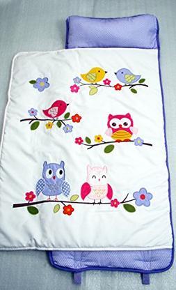 SoHo Nap Mat , Lavender Owls