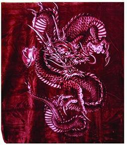 Solaron Korean Blanket Thick Mink Plush king size Heavy thro