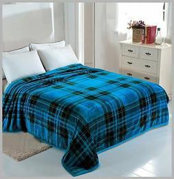 Solaron Korean Blanket throw Mink silky soft King Size Plush