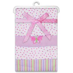 Spasilk Baby-Girls Newborn 4 Pack 100% Cotton Flannel Receiv
