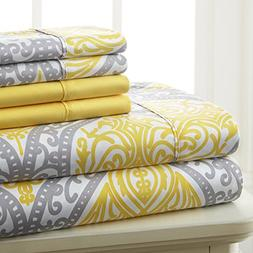 Spirit Linen Hotel 5Th Ave Prestige Home Collection 6 Piece