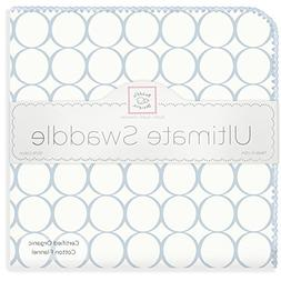 SwaddleDesigns Organic Ultimate Swaddle Blanket, Made in USA