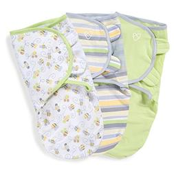 SwaddleMe Original Swaddle 3-PK, Busy Bees