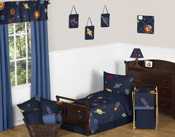 Sweet Jojo Designs 5-Piece Space Galaxy Galactic Planets Roc