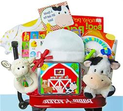 The Cashmere Bunny Baby Einstein Gift Basket
